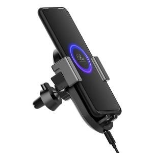 Держатель с функцией беcпроводной зарядки Xiaomi ZMI Wireless Charging Car Holder 20 Вт + АЗУ (WCJ10)